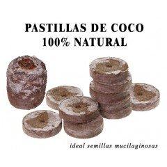 Pastillas fibra de coco natural x 12ud