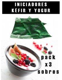 Pack Fermentos para Kefir y Yogur
